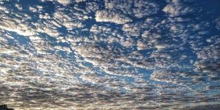 Nivelamento marcado por nuvens imagem de stock royalty free