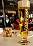 Nivelando bebidas em Berlim Imagens de Stock Royalty Free