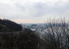 Nivelando a cidade de Kiev fotografia de stock royalty free