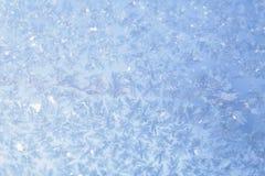 Nivelando o teste padrão azul de Frost Fotos de Stock Royalty Free