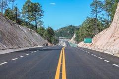 Nivele com sinais de estrada imagem de stock royalty free