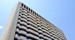 Niveles superiores de edificio moderno Foto de archivo libre de regalías