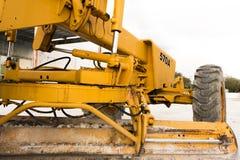 Nivelleermachine - bulldozer Royalty-vrije Stock Fotografie