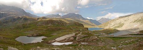 Nivolet Lago-Italia Imágenes de archivo libres de regalías