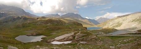 Nivolet See-Italien lizenzfreie stockbilder