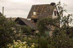 Żniwa tornado Białoruś Zdjęcie Stock