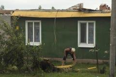 Żniwa tornado Białoruś Obraz Stock