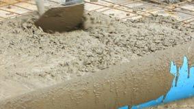 Niwelacyjny Świeży beton zbiory