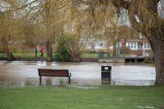 Żniwo ulewnego deszczu spadek w Stratford na Avon z localis Obrazy Stock