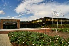 Nixdorf AG de Wincor d'acquisition par la compagnie des États-Unis Diebold Photographie stock libre de droits