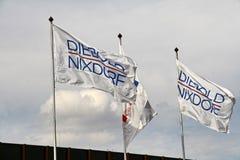 Nixdorf AG di Wincor di acquisizione da compagnia statunitense Diebold Fotografia Stock Libera da Diritti