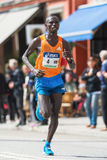 Nixon Machichin from Kenya the silver medalist in the ASICS Stoc Stock Photo