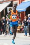 Nixon Machichin van Kenia de zilveren medaillewinnaar in ASICS Stoc Stock Foto