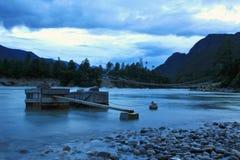 Niyang flod Royaltyfri Fotografi