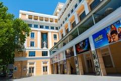 Nizami戏院大厦 图库摄影