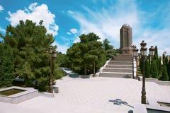 Nizami Gencevi  Meqberesi mausoleum in Gyanja Stock Photography