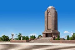 Nizami Gencevi Meqberesi mausoleum i Gyanja Arkivbilder