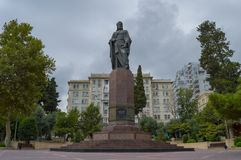 Nizami-Monument Lizenzfreie Stockbilder