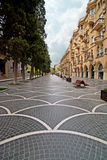 Nizami Straße stockbilder
