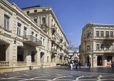 Nizami street in Baku. Azerbaijan Royalty Free Stock Image