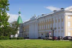Nizhegorodaky状态学术爱好音乐大厅大厦  库存图片