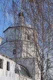 NIZHNE ABLYAZOVO,俄罗斯- 2016年1月02日:Ithe石头看法  库存照片