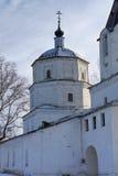 NIZHNE ABLYAZOVO, RUSLAND - JANUARI 02, 2016: Mening van Ithe-steen Stock Afbeelding