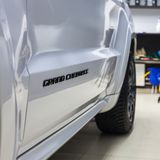 Nizhnevartovsk, Rusland - December 23, 2015: Jeep Grand Cherokee SRT royalty-vrije stock afbeelding