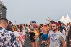 Nizhniy Новгород, Россия - 24-ое июля 2016: фестиваль электронной музыки - AFP стоковая фотография rf