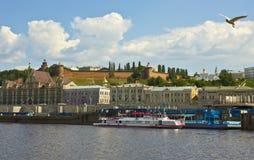 Nizhniy Novgorod stock afbeelding