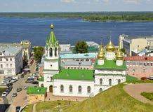 Nizhniy Novgorod, church of Nativity of John the Baptist Stock Image