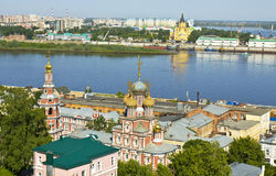 Nizhniy Novgorod, Rusland Stock Foto's