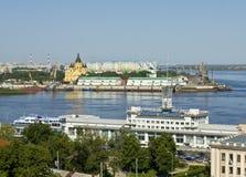 Nizhniy Novgorod, Rusland Stock Foto