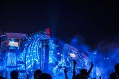 Nizhniy Novgorod, Russia - July 24, 2016: electronic music festival - AFP stock photo