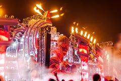 Nizhniy Novgorod, Ryssland - Juli 24, 2016: festival för elektronisk musik - AFP arkivfoto