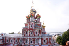 Nizhniy novogord church Royalty Free Stock Photos