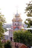 Nizhniy novogord church Royalty Free Stock Image