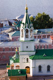 Nizhniy novogord church Royalty Free Stock Photography
