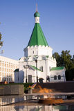 Nizhniy novogord church Royalty Free Stock Photo