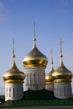 Nizhniy novogord dome church Stock Photography