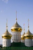Nizhniy novogord dome church Royalty Free Stock Image