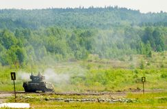 Terminator Tank Support Fighting Vehicle. Russia stock photography