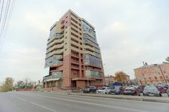 Nizhny Novgorod俄国 - 10月4日 2016年 Sberbank银行  免版税库存图片