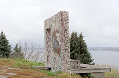 Nizhny Novgorod俄国 - 10月13日 2016年 由河看见地方在亚历山大公园 免版税库存照片