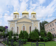 Nizhny Novgorod俄国 - 7月14日 2016年 莫斯科下诺夫哥罗德metochion三位一体六翼天使的教会圣洁教主Divee 库存图片