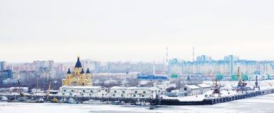 Nizhny Novgorod俄国 免版税库存照片