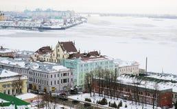 Nizhny Novgorod俄国 免版税图库摄影