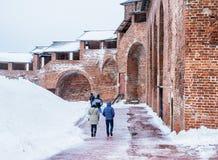 Nizhny Novgorod克里姆林宫,俄国 库存图片