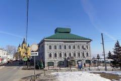 nizhny novgorod Ρωσία - 14 Μαρτίου 2017 Περιφερειακή διοίκηση της επιθεώρησης ασφάλειας κρατικής κυκλοφορίας Στοκ φωτογραφία με δικαίωμα ελεύθερης χρήσης