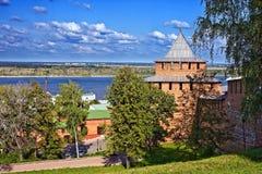 nizhny novgorod του Κρεμλίνου στοκ φωτογραφία